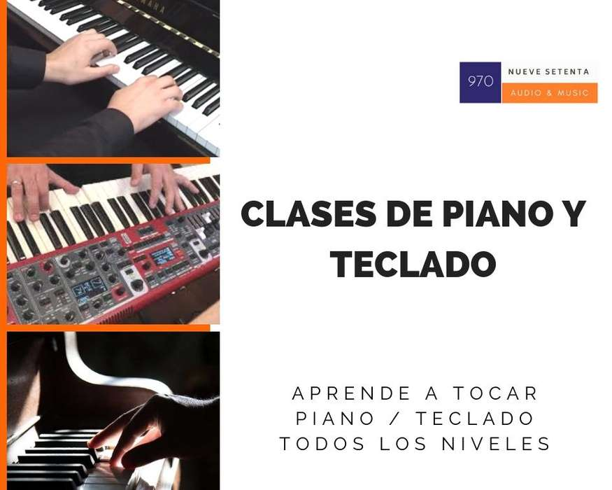 CLASES DE PIANO / TECLADO