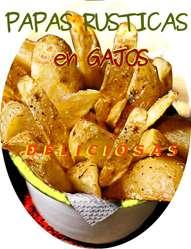 PAPAS RUSTICAS EN GAJOS,1562513586, PRECOCIDAS Y CONGELADAS.