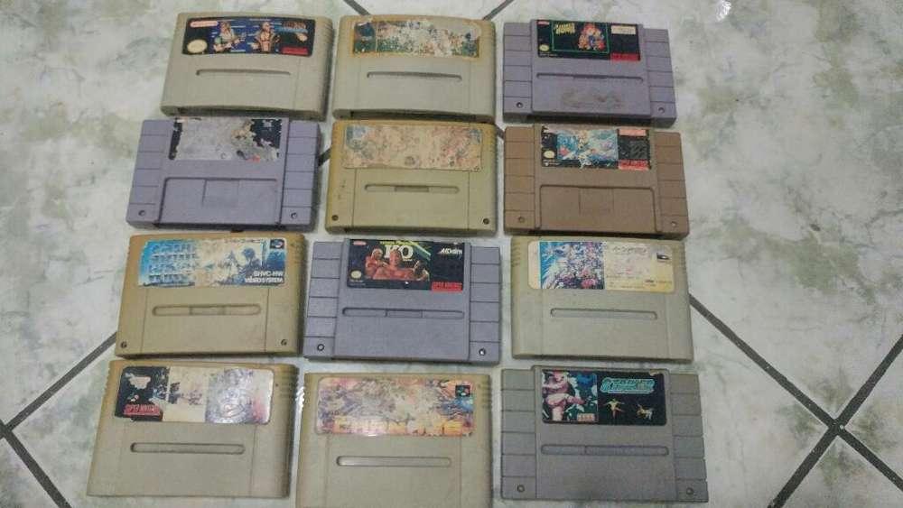 2 Super Nintendo Mas 12 Juegos