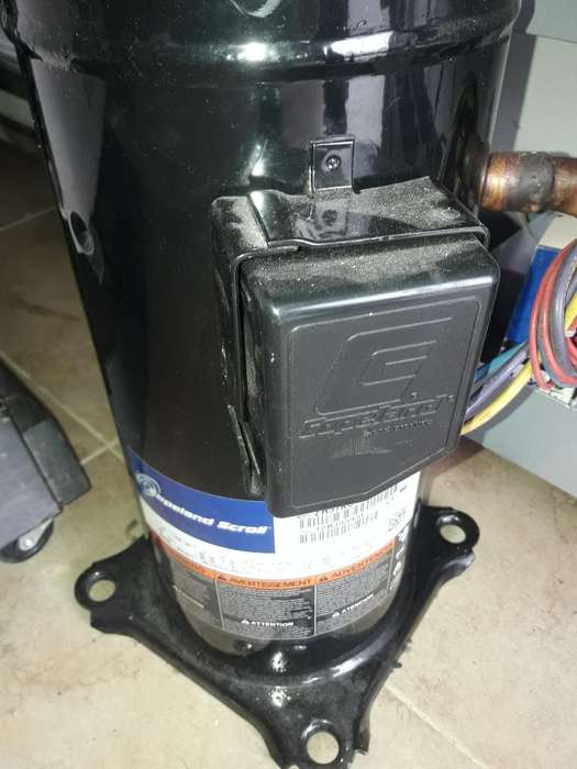 Compresor para Aires de 5 Ton. 3ph 220v