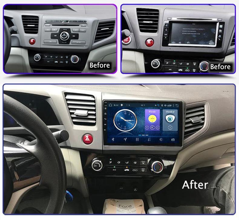 HONDA CIVIC 2012 2015 ANDROID AUTORADIO