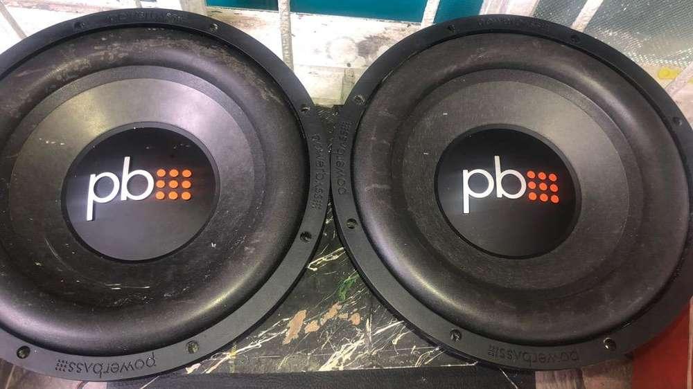 2 Bajos Power Bass Perfectos