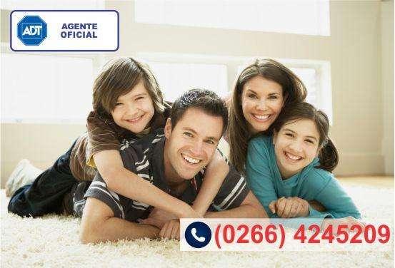 Contratar Alarma monitoreada (0266) 4245209 ADT  Agente Oficial