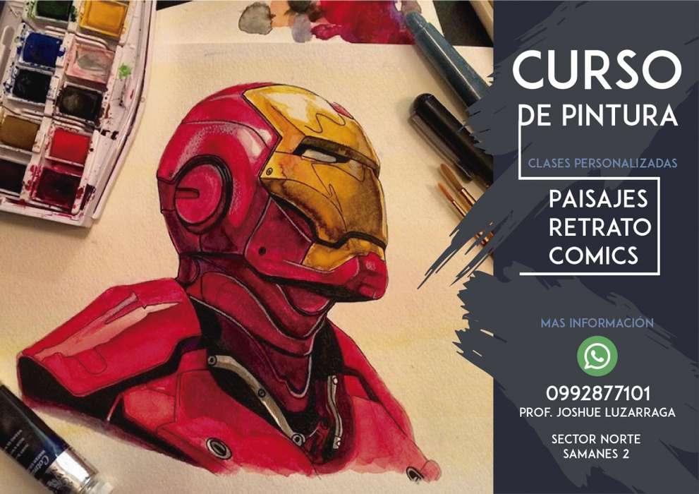 Curso de <strong>pintura</strong> y comics