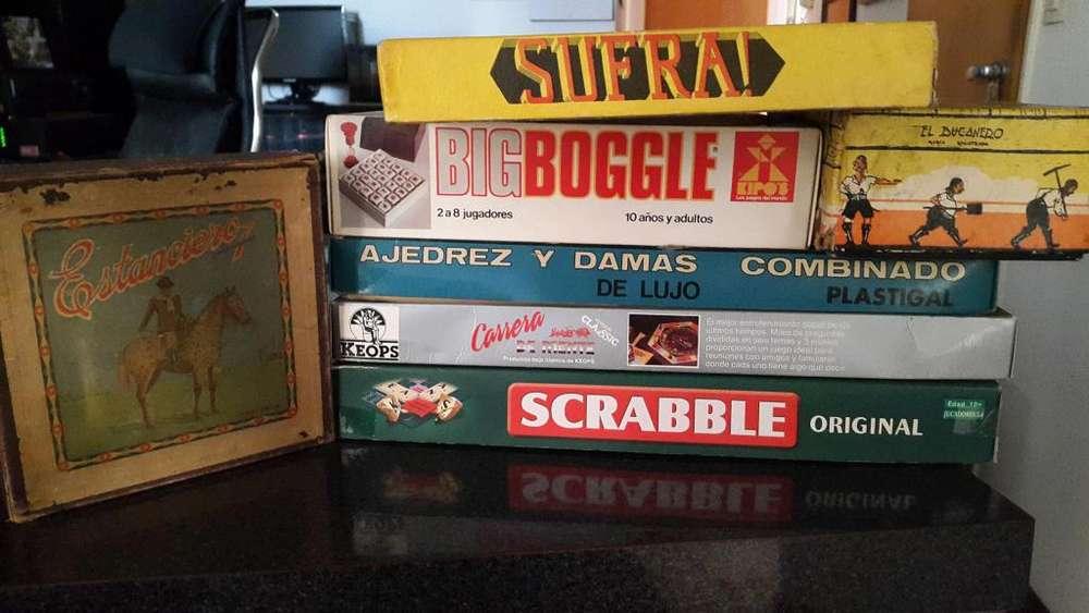 Lote <strong>juegos</strong> Mesa - Sufra Big Boogle Bucanero Etc.. - Envios!