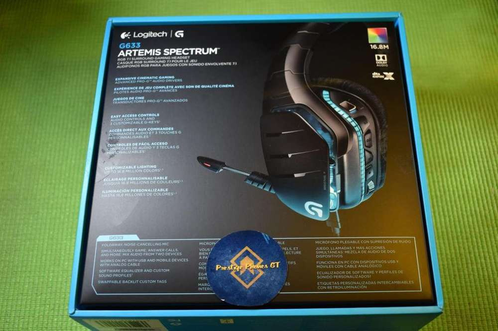 Gaming Logitech Artemis Spectrum G633 7.1 DTS Audio Nuevos