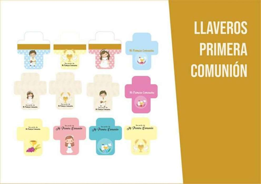 Llaveros Souvenirs para Comunión