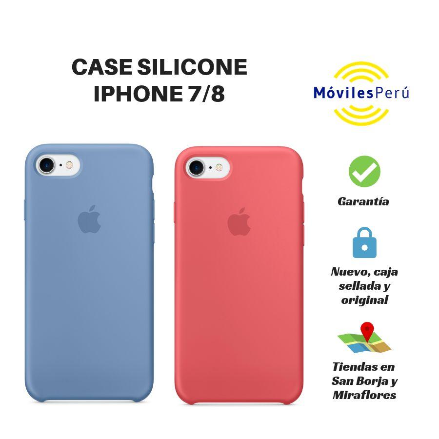 CASE SILICONE IPHONE 7/8 NUEVO, ORIGINAL, TIENDAS FÍSICAS