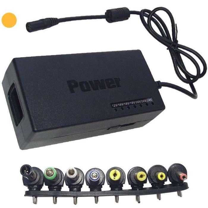 cargador universal multivoltaje , para monitores led y <strong>notebooks</strong>