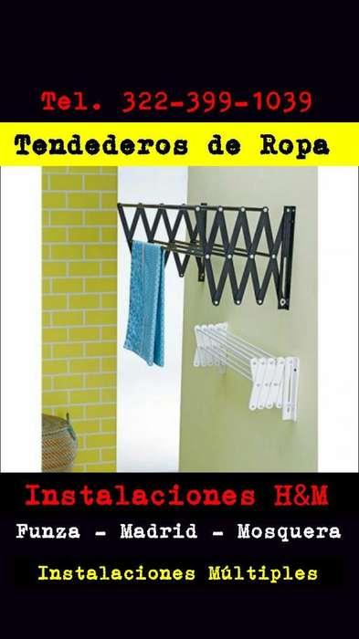 Tendederos de Ropa en Madrid Cundinamarc
