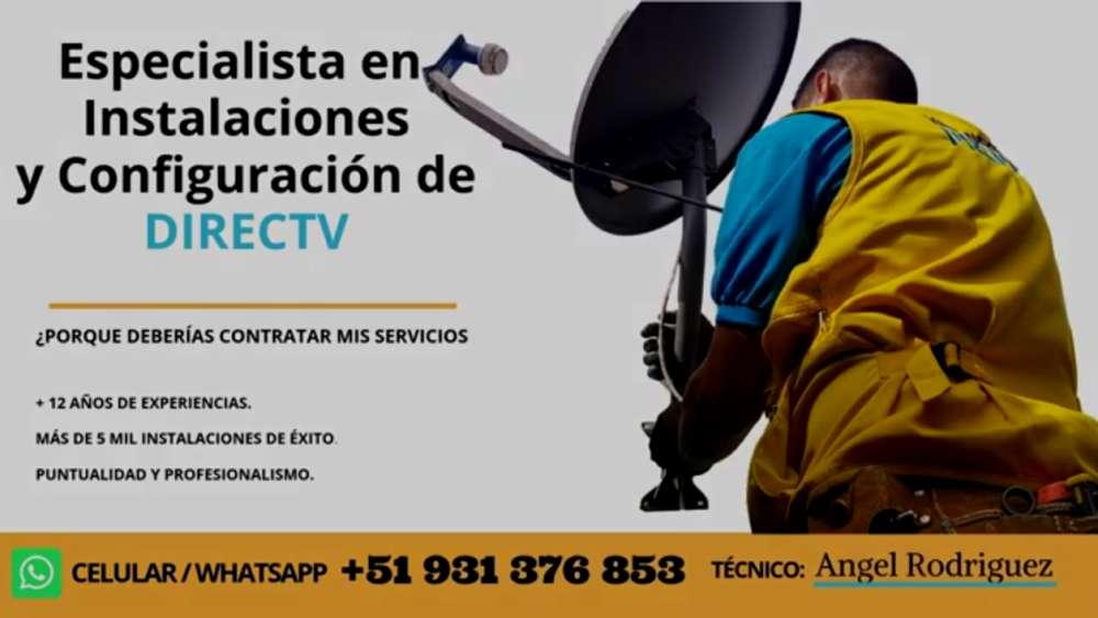 Servicio Técnico Directv Kit Prepago 931376853