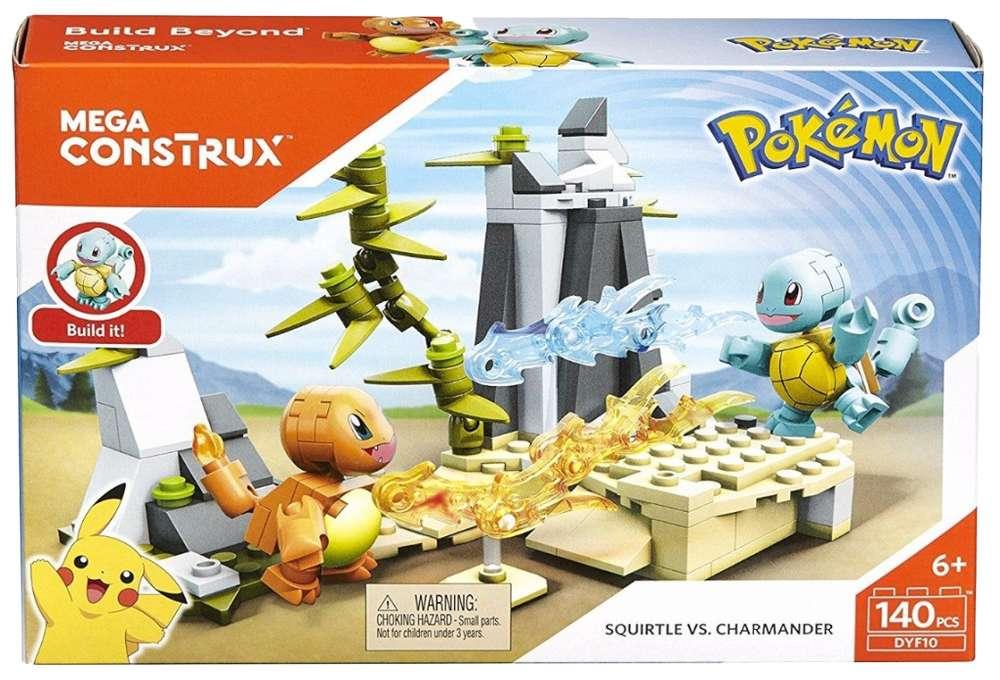 Pokemón Squirtle vs. Charmander - Mega Construx