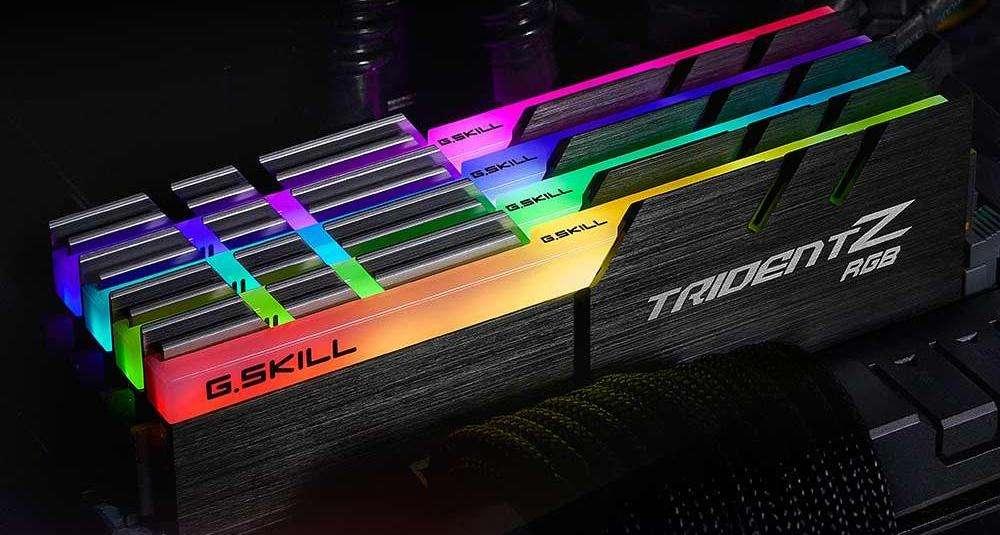 Gskill Trident z Ddr4 Ram 2x8 16gb RGB Nuevas