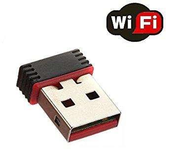 Nano USB WiFi Adaptador inalámbrico