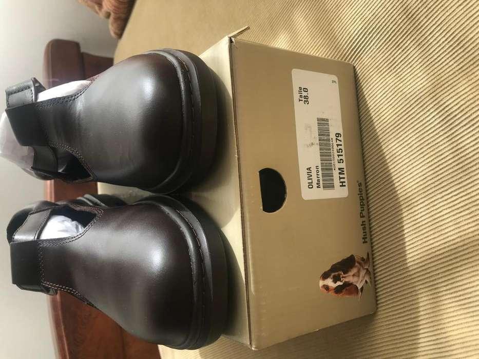 Zapatos nuevos hush puppies de cuero