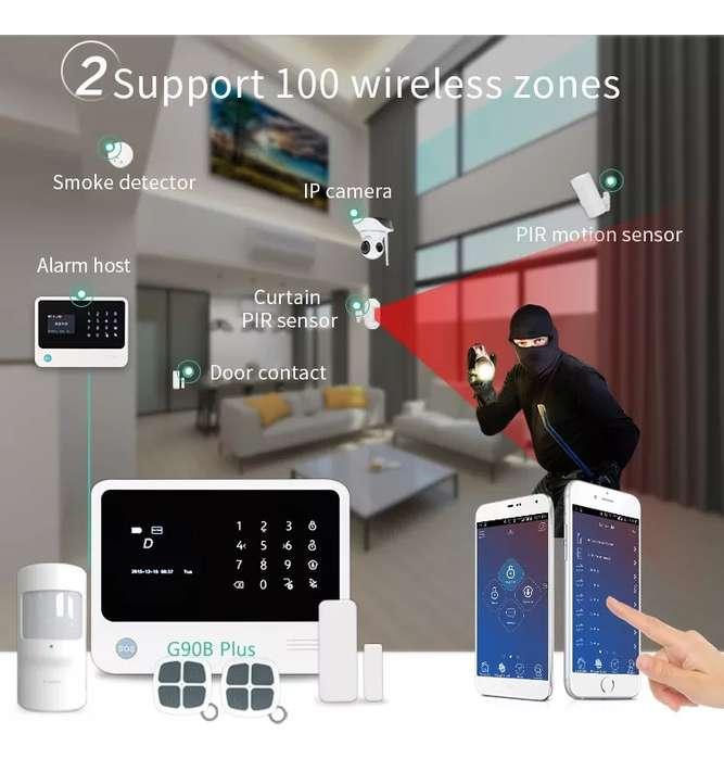 Alarma Inalambrica Wifi Gsm Gpr Domotica Smart