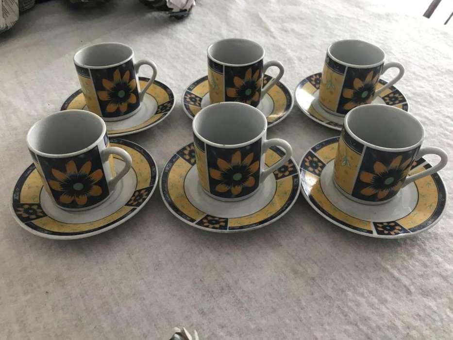 juego de cafe 6 piezas