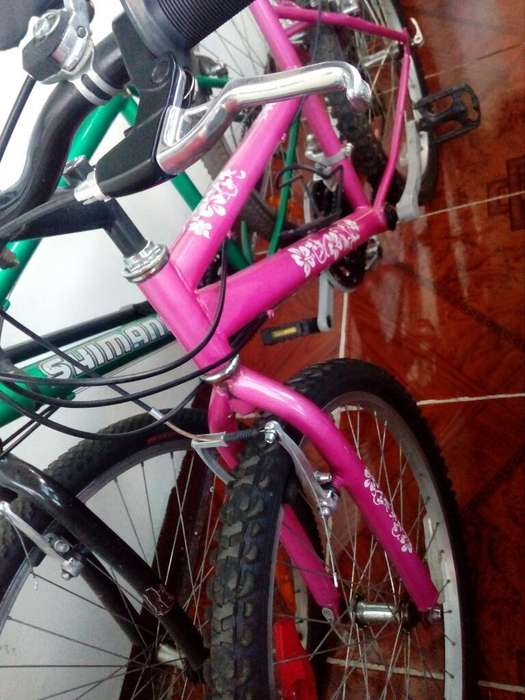 Vendo Bicicleta Color Rosado.