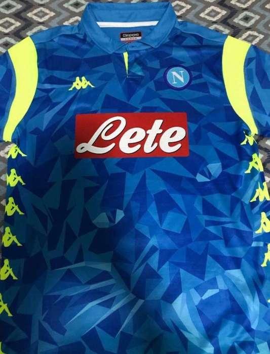 Camiseta Napoli Talle L