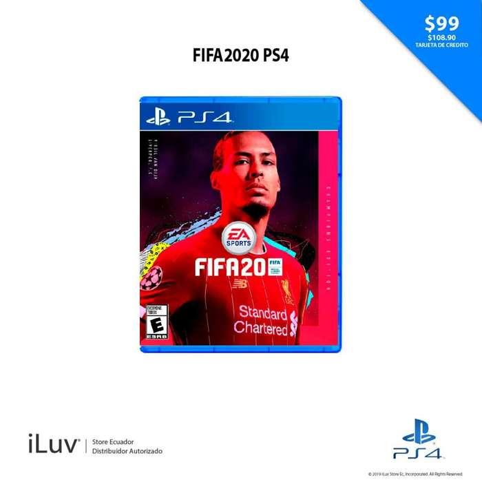 Videojuegos Fifa 2o Champions Edition Ps4
