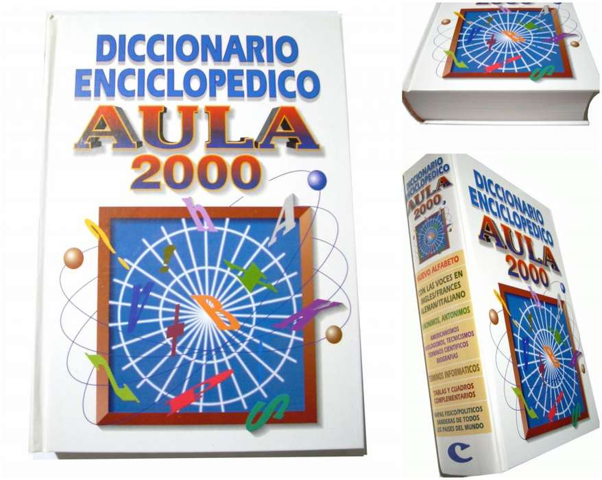 Gran Diccionario Enciclopédico Aula 2000 Tapa Dura Ilustrado