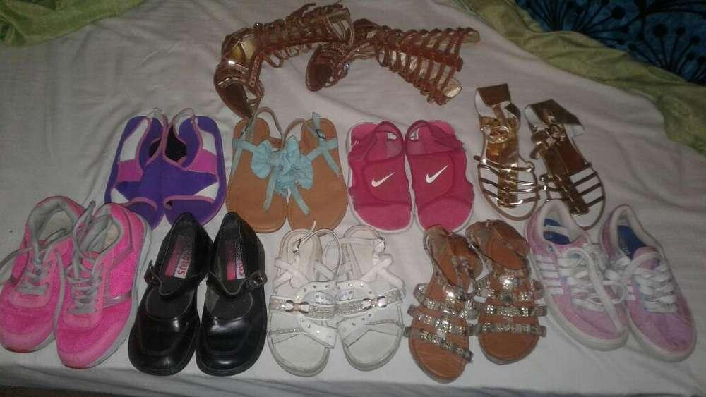 Vendo Baratos Zapatos Usados para Niña