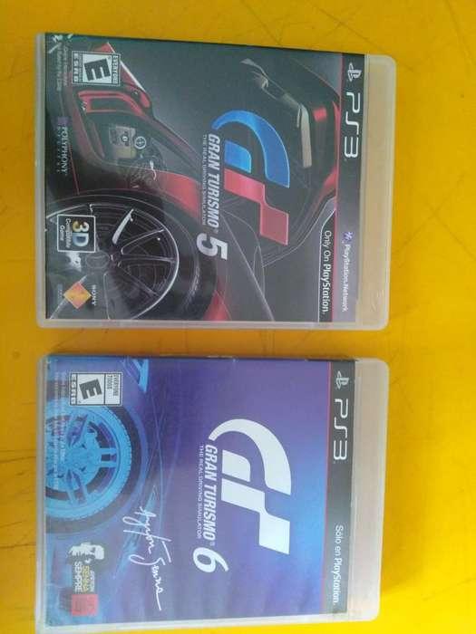 Ps3 Juego Gran Turismo 5 Y 6