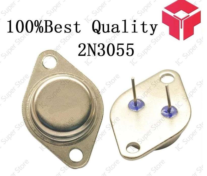 Transistor De Potencia Audio 2n3055 15 A--- Npn - 3 Unidades