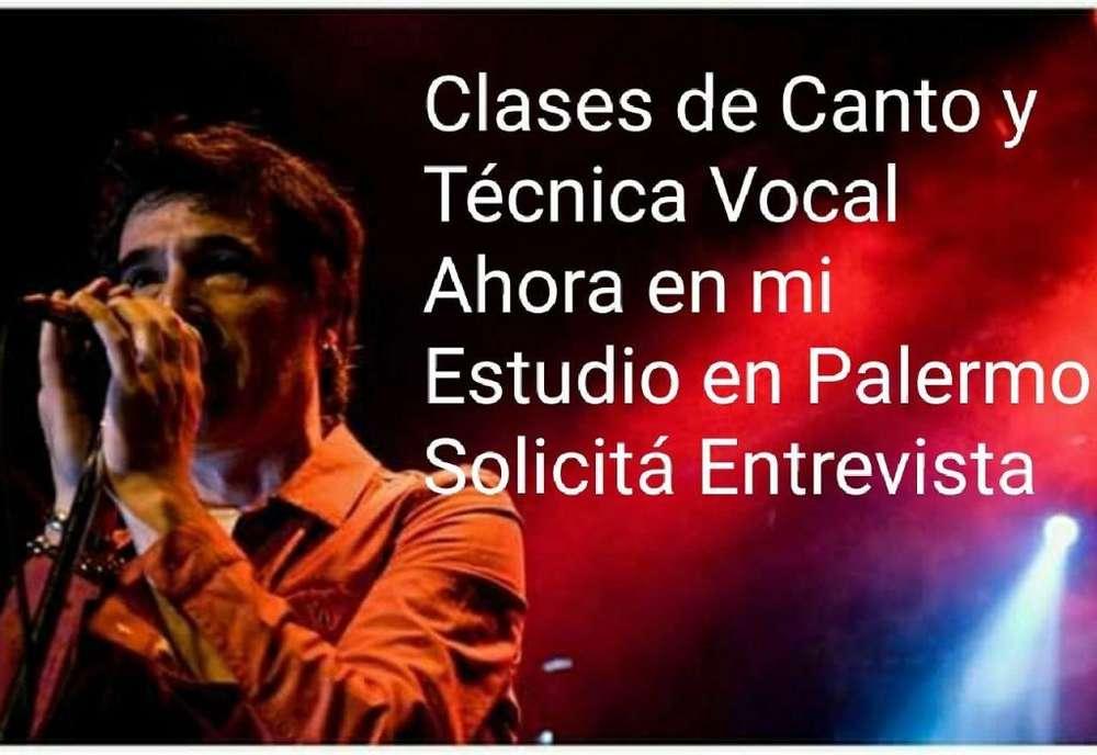 Clases de Canto y Tecnica Vocal