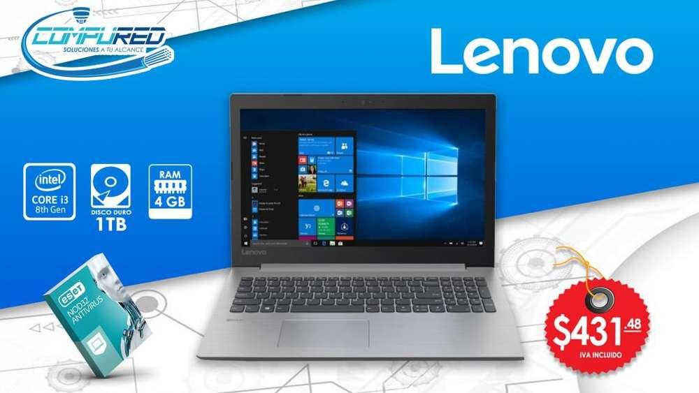 Laptop Lenovo Ideapad 330 Ci3-8130u 1TB/4GB/15.6