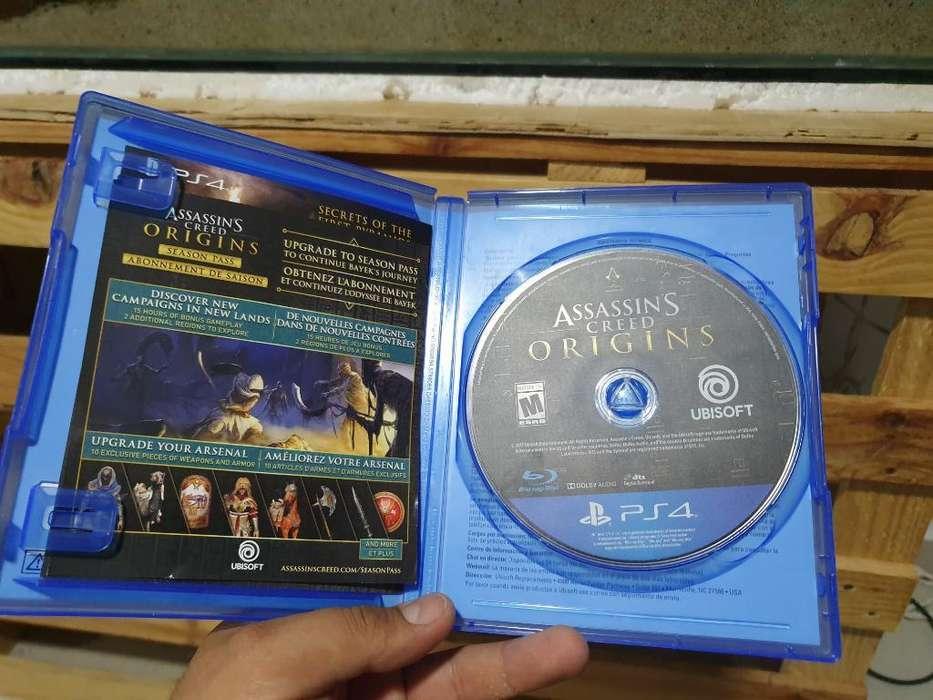 Assassins Creed Origins Ps4 Como Nuevo