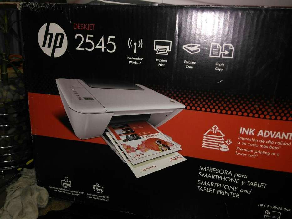 Impresora Multifuncional Hp Ink 2545