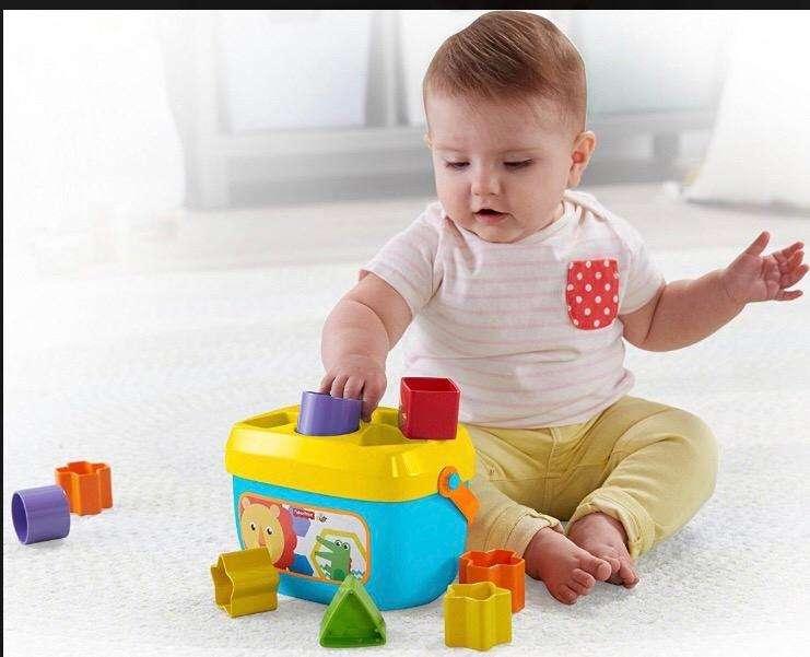 Fisher Price Babys Blocks Nuevo