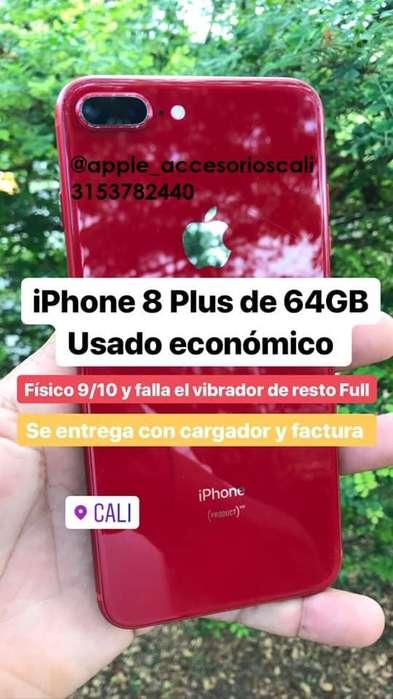 i Phone 8 Plus 64Gb Fotos y leer