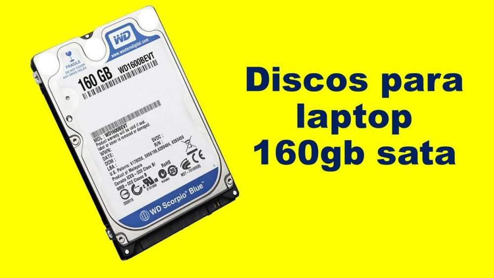 Disco 160gb para laptop, sata
