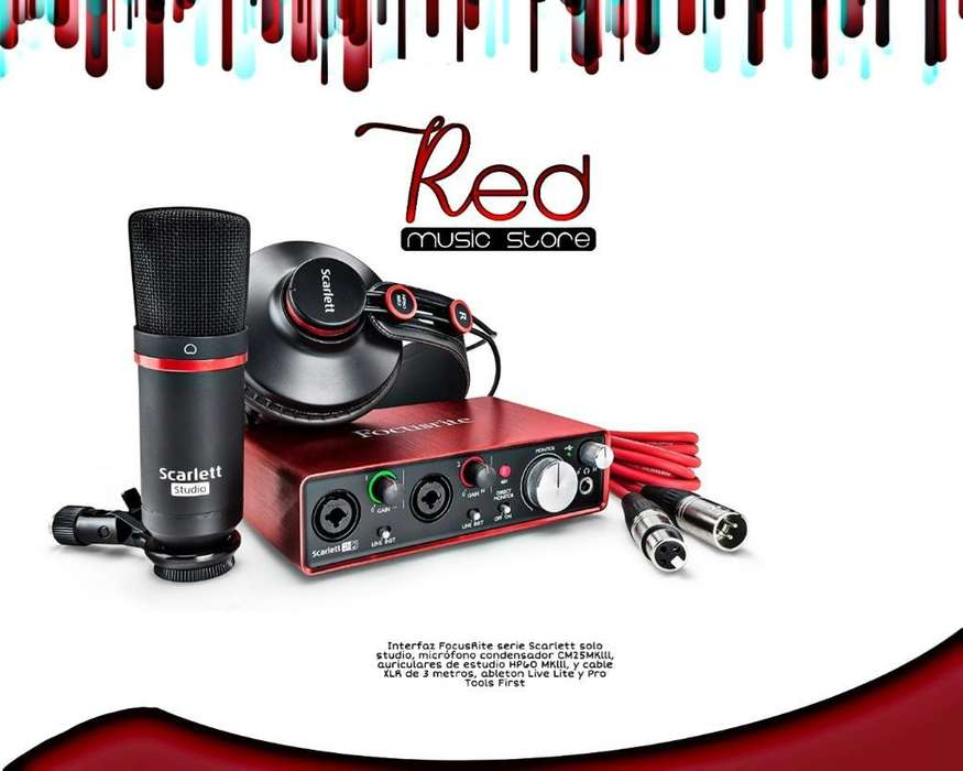 Combo, Interface Focusrite, Info a Inbox