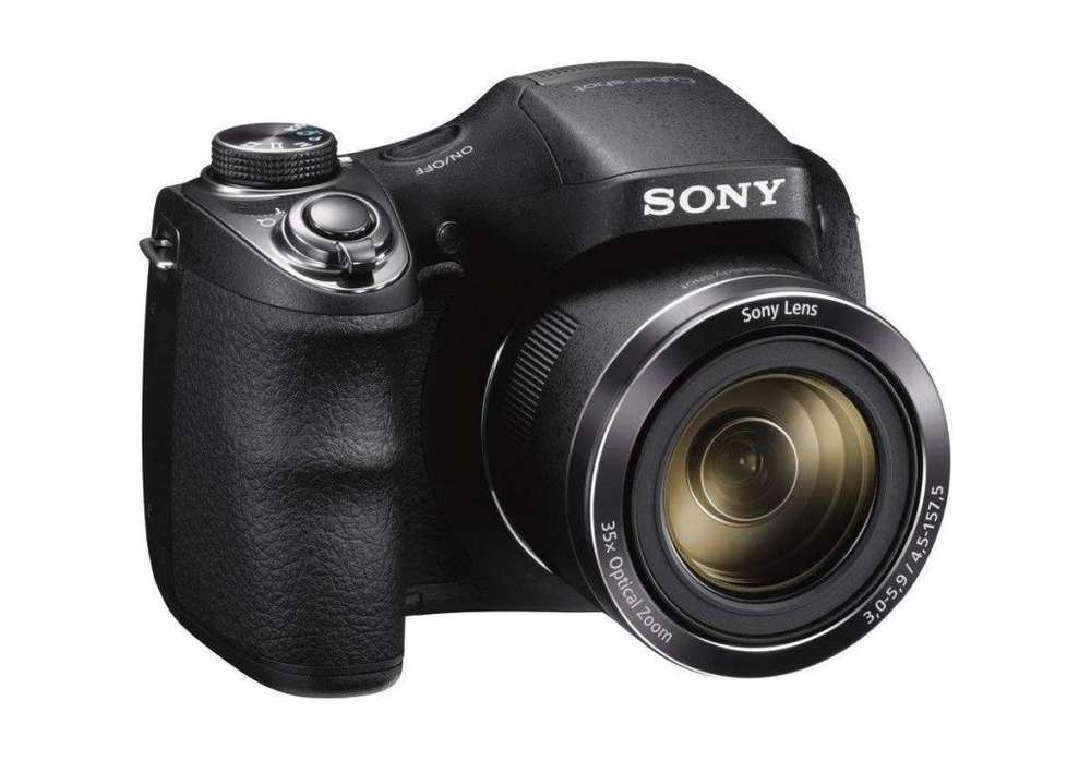 Cámara Digital Sony Dsch300/b 20mp Zoom 35x Lcd Lent:25mm