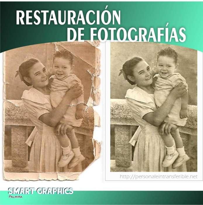 RESTAURACION FOTOGRAFICA FOTOGRAFIA DISEÑO PHOTOSHOP RECUPERACION RETOQUE FOTOMONTAJES PUBLICIDAD PALMIRA CALI
