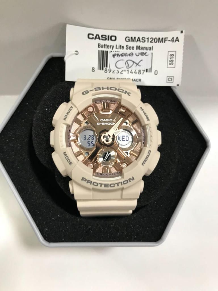 438134b3f92d Reloj Casio Gshock Dama Rosa Gmas120mf4a - Medellín