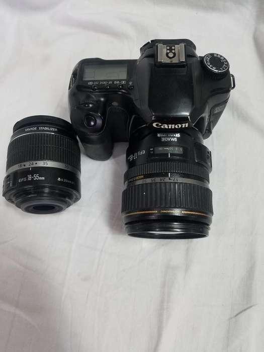 Canon 40d 2lentes por Arreglar 17 85y185