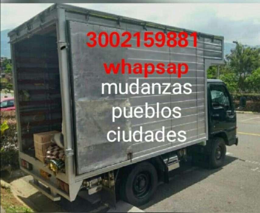 Mudanza,trasteos3002159881 Pueblos Ciuda