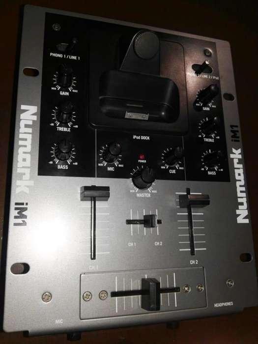 Mezclador Numark iM1 ¡GANGA! en Perfectas Condiciones
