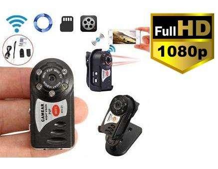 Camara Seguridad Mini Camara Q7 WIFI FULLHD Vigilancia