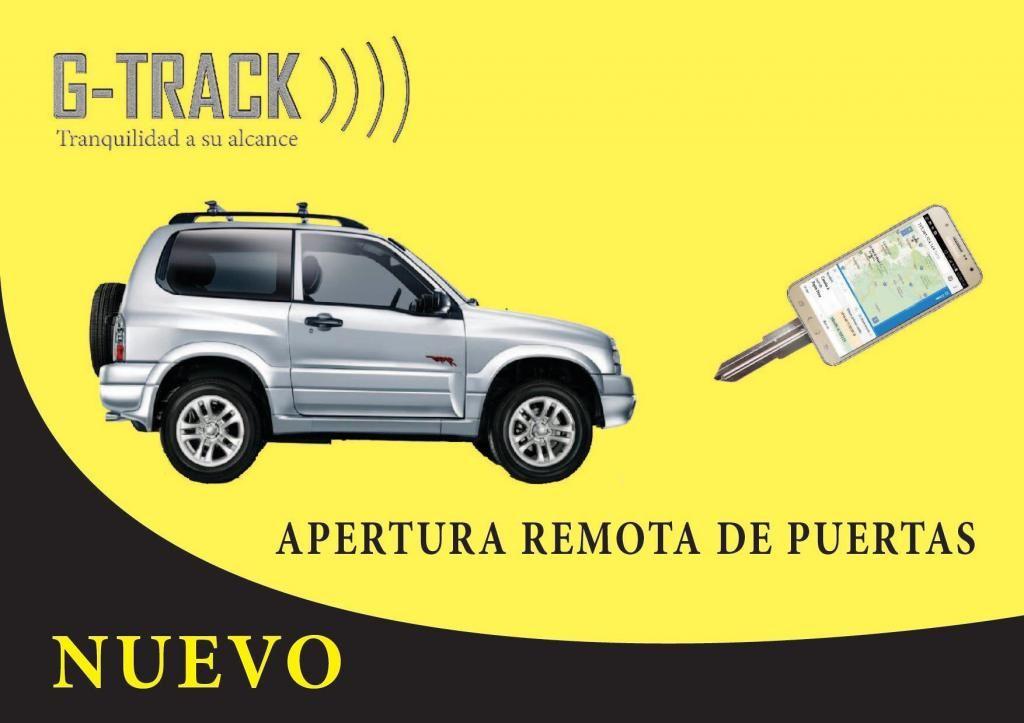 GPS para vehículo, 100 original, con apertura remota de puertas tk105