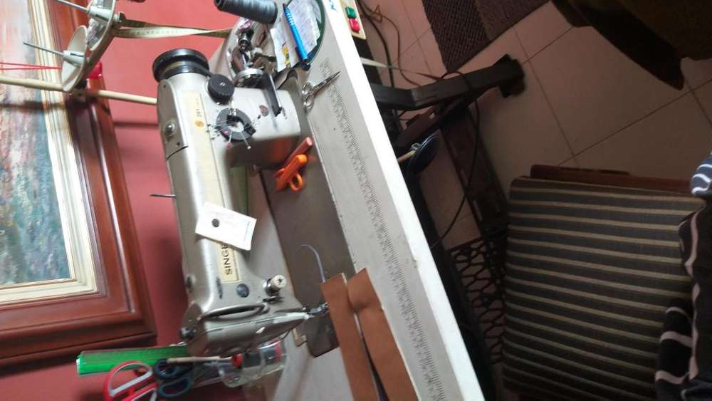Cambio maquina plana a de poste 1 aguja difer a convenir