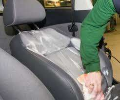 servicio de limpieza de cojinerias de vehiculos
