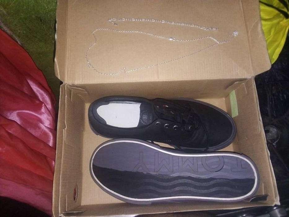 Tengo unos Zapatos Tommy Hilfiger Originales me Costaron 120 y Un Esclava De Plata