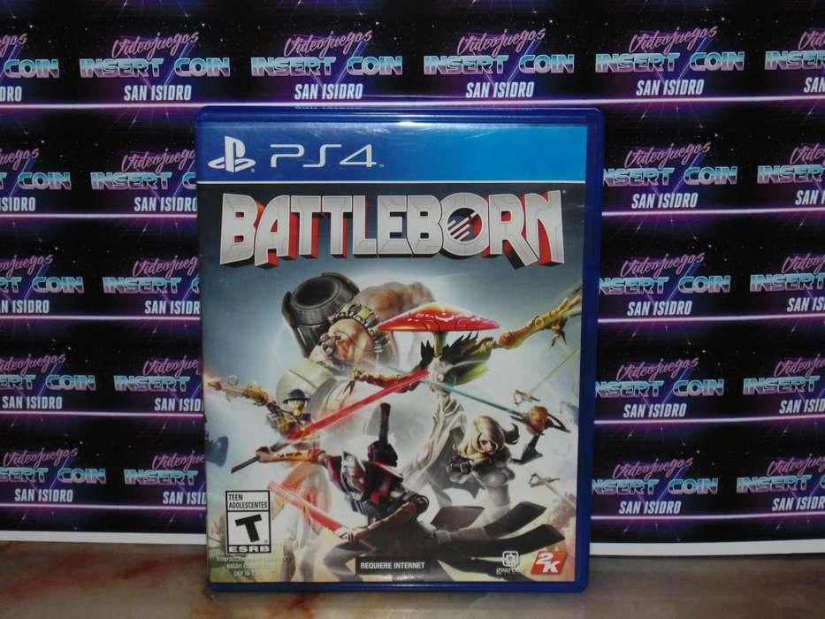 Battleborn PS4 Juego Play Station 4