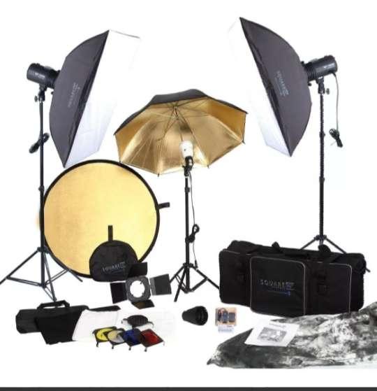 Kit Completo de <strong>estudio</strong> Fotográfico