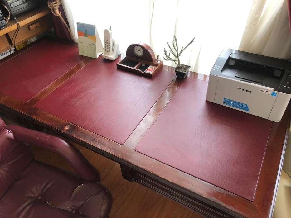 Escritorio para Oficina Gerente Principal Full equipado